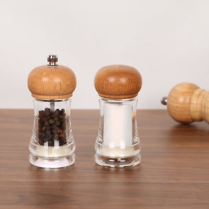 Pelican Pepper Mill And Salt Shaker Set - Wooden Home Decor