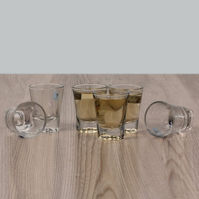 Shot Glasses 60 ml- Set Of 6 - Wooden Home Decor