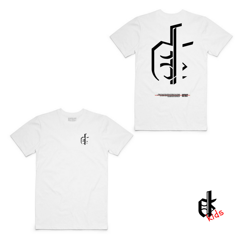Capital Tee White- Kids