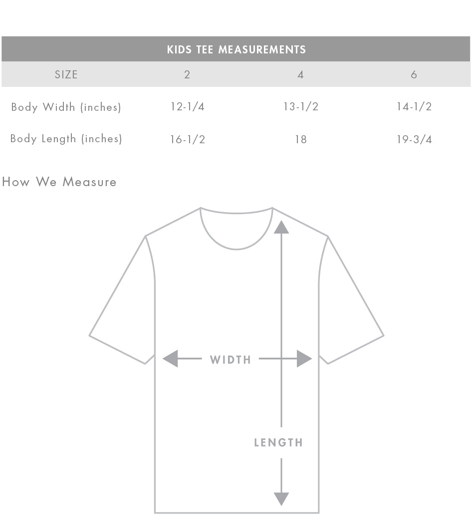 Midpoint Tee Black- Kids