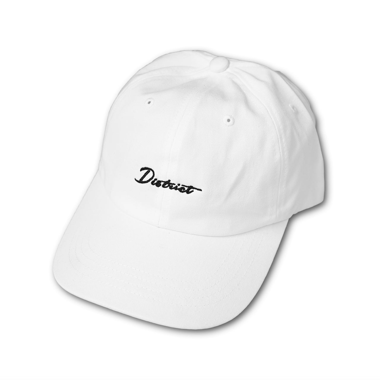District Dad Hat - White