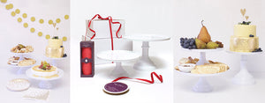 Holiday Hosting Decorations Featuring: Cake Stand