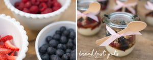 Maple Berry Breakfast Pots Recipe