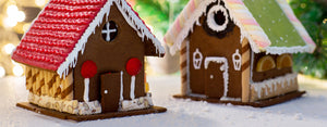 Sweeten the Holidays with Gingerbread Houses