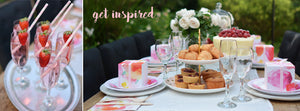 Floral Garden Brunch Ideas Tablescape