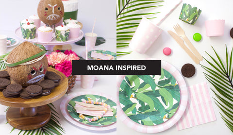 Moana Inspired Kids Party