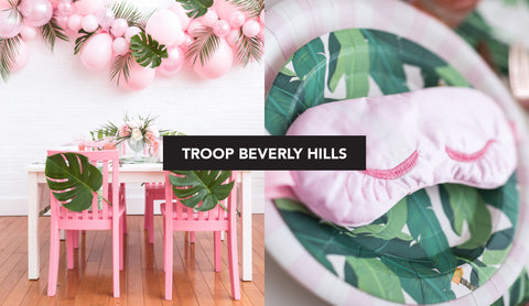 Troop Beverly Hills Kids Party