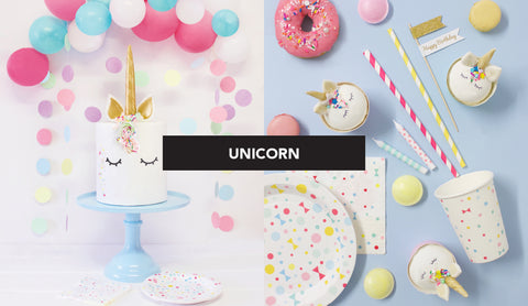 Unicorn Party Table