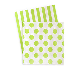 Cocktail Napkins Apple Green 20pc