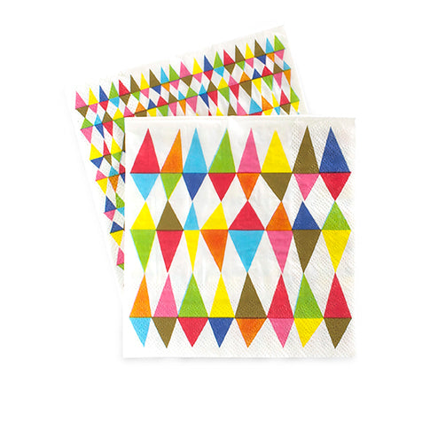 Cocktail Napkins Rainbow Ritz 20pc