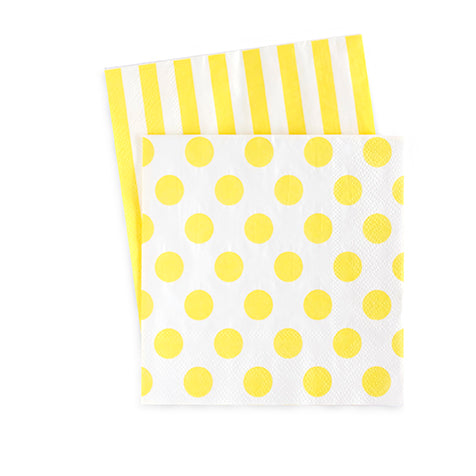 Cocktail Napkins Limoncello 20pc