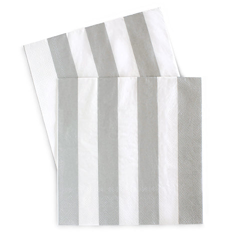 Large Napkins Silver Sundae 20pc