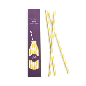 Paper Straws Limoncello 24pc