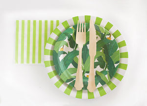 Paper Plates Apple Green 12pc