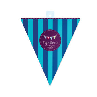 PartyFlags Blue Style 50pc