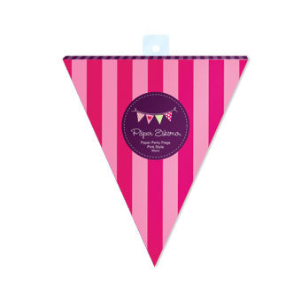 PartyFlags-Pink Style 50pc