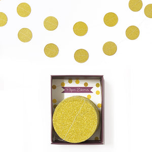 Garland Gold Confetti 1pc