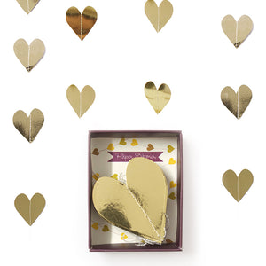 Garland Gold Heart 1pc