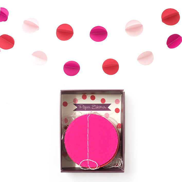 Garland - Pink Confetti 1pc