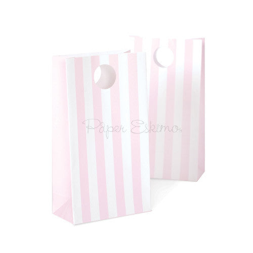 Party Bags MARSHMALLOW PINK 12PC by Paper Eskimo