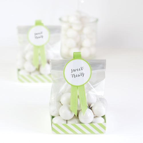 Treat Bag-Apple Green 12pc