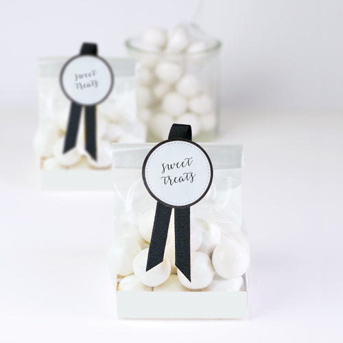 Treat Bag-White 12pc