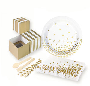 Gold Crush Cocktail Party for 12 kit