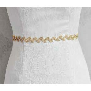 Wreath Styled Bridal Belts or Hair Vines