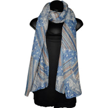 Load image into Gallery viewer, Sapphire - Scarf - Trestina