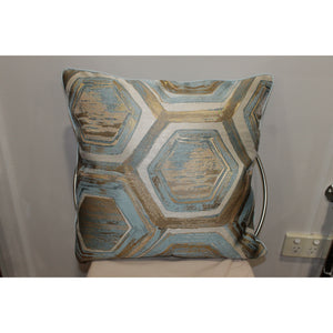 Blue/Gold Cushion Design 2 - Trestina