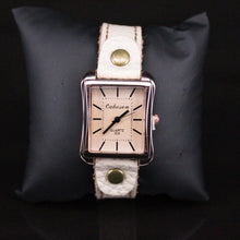 Load image into Gallery viewer, Trestina Beige Watch Design 4
