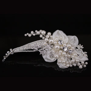 Hazel - Wedding Hairpiece - Trestina