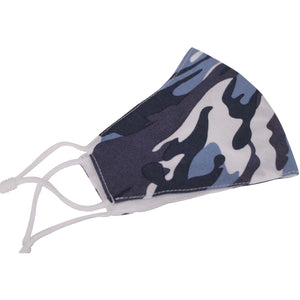 Navy Camo - Face Mask - Trestina