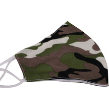 Load image into Gallery viewer, Khaki Camo - Face Mask - Trestina