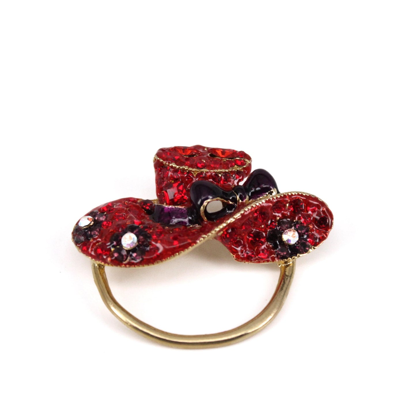 Ruby - Red Hat Brooch - Trestina