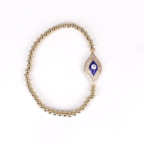 Beverly - Greek Evil Eye Mati Bracelet - Trestina