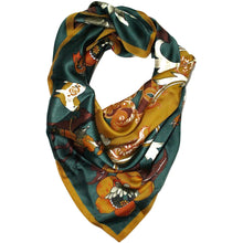 Load image into Gallery viewer, Sofia- Square Scarf - Trestina