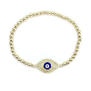 Billie  - Greek Evil Eye Mati Bracelet - Trestina