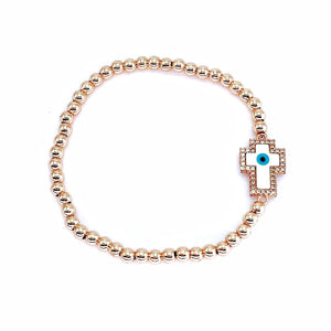 Blair - Greek Evil Eye Mati Bracelet - Trestina