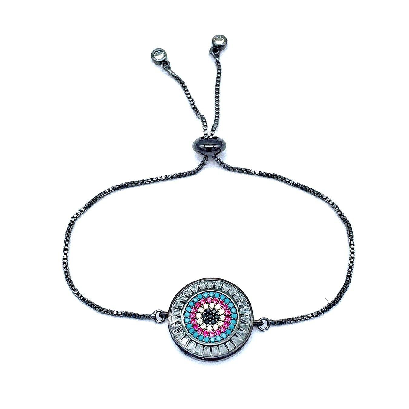 Brooke - Greek Evil Eye Mati Bracelet - Trestina
