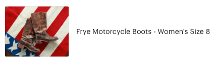 Customer review of Frye Motorcycle Boots from High Desert Dry Goods