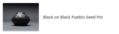 Customer review of Black on Black Pueblo Seed Pot from High Desert Dry Goods