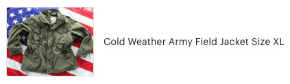 Customer review of Cold Weather Army Field Jacket from High Desert Dry Goods