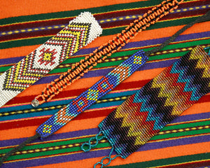 Beaded hippie cowgirl bracelets for sale or trade