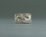 vintage horse head belt buckle 1 inch