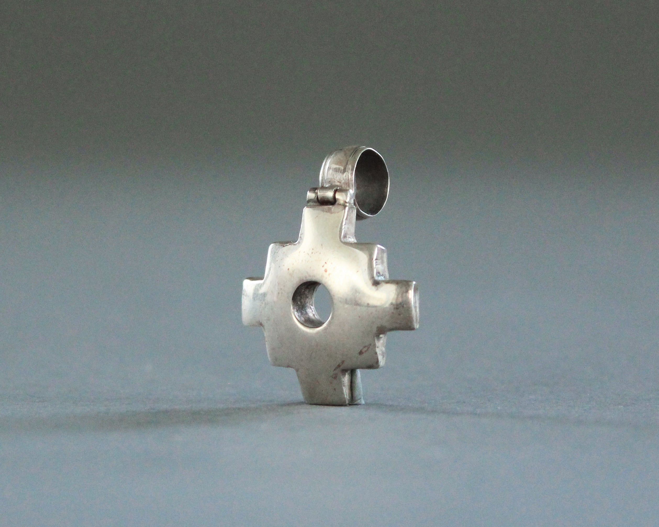 southwestern cross necklace sterling silver