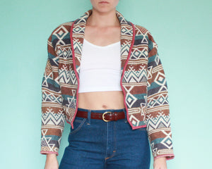 90s Western tapestry jacket