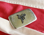 western saddle vintage belt buckle