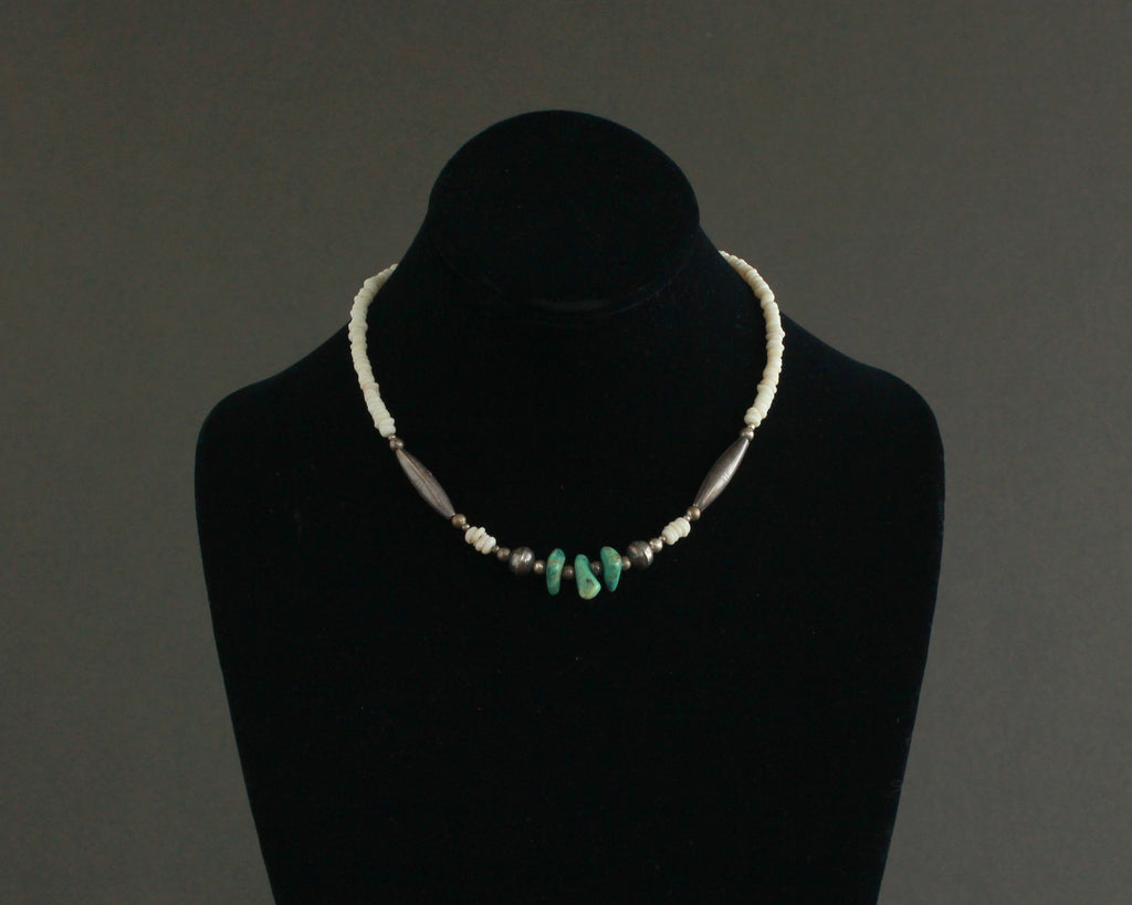 affordable turquoise nugget necklace