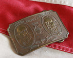 Wells Fargo antique belt buckle Tiffany New York
